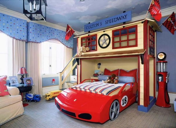 Childrens bedroom interior design